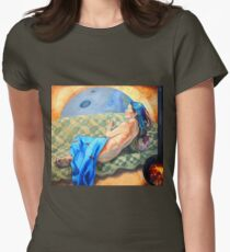Welcoming the Golden Age Women's Fitted T-Shirt