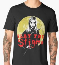 Buffy The Vampire Slayer Slay The Stigma Men's Premium T-Shirt