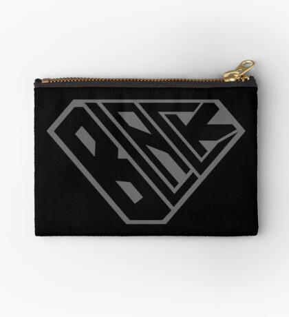Black SuperEmpowered (Black on Black) Zipper Pouch