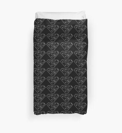 Black SuperEmpowered (Black on Black) Duvet Cover