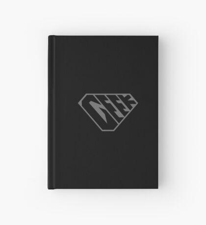 Geek SuperEmpowered (Black on Black) Hardcover Journal
