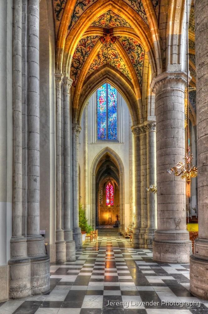Cathedrale de Liege - Belgium by Jeremy Lavender Photography