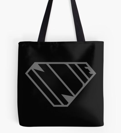 Indie SuperEmpowered (Black on Black Edition) Tote Bag
