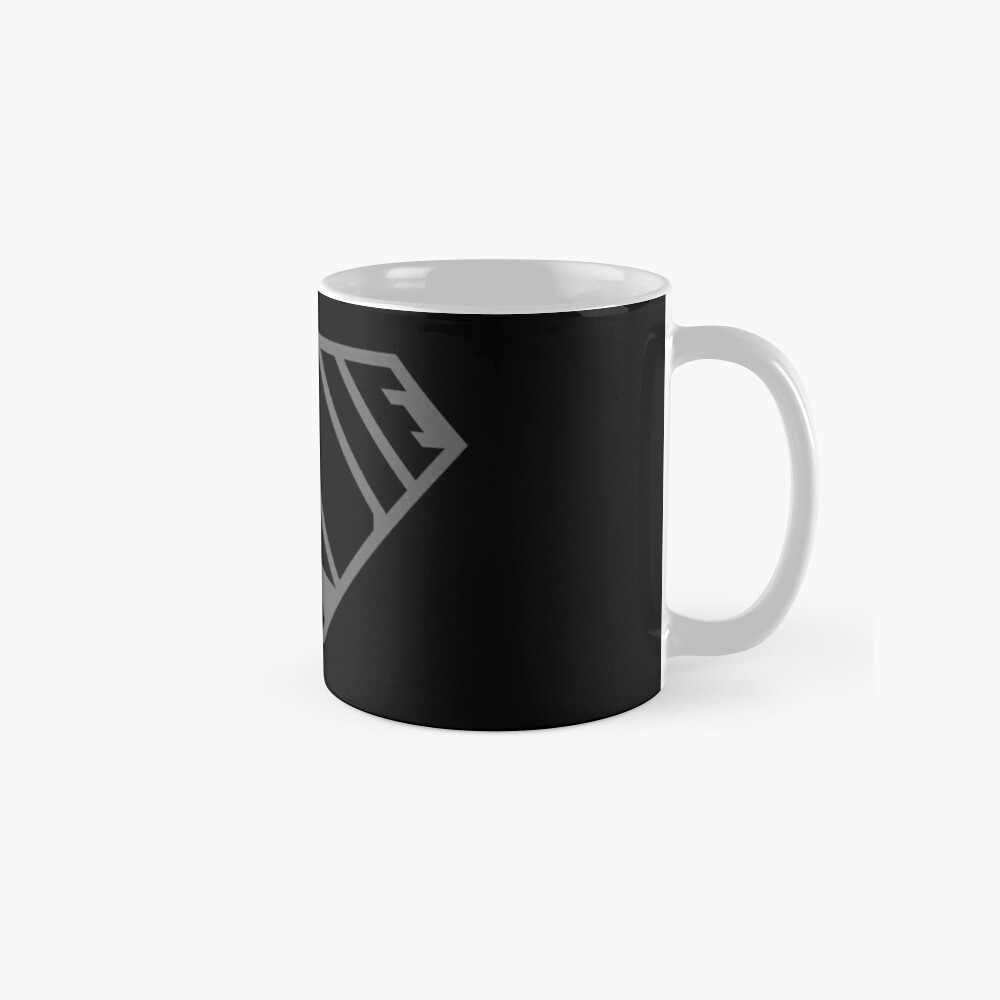 Indie SuperEmpowered (Black on Black Edition) Classic Mug