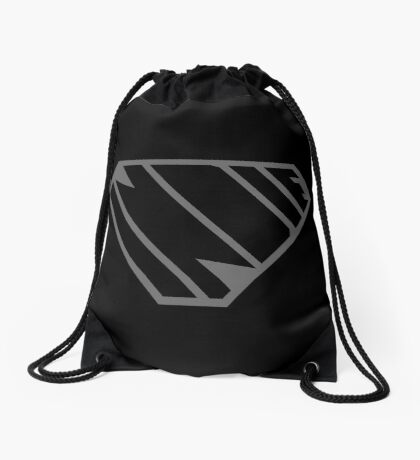Indie SuperEmpowered (Black on Black Edition) Drawstring Bag