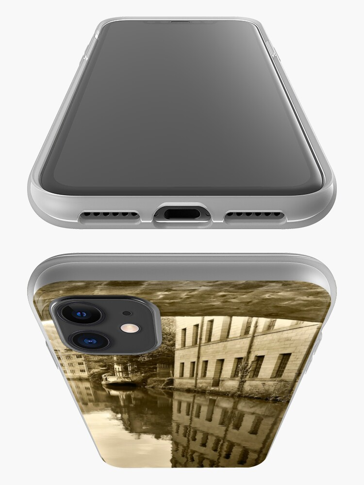 Alternate view of Rochdale Canal, Hebden Bridge iPhone Case & Cover