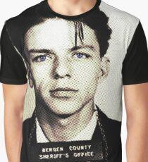 Mugshot Collection - Frank Sinatra Graphic T-Shirt