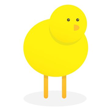 Cute Yellow Chick by bergern