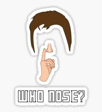 Doctor Who - Who Nose? [Tenth Doctor] Sticker