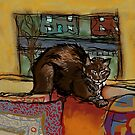 The Leisurely Cat by melasdesign