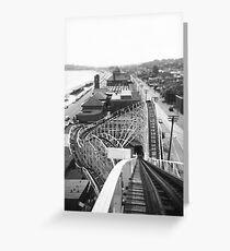 """The Cyclone"" Revere Beach, MA Greeting Card"
