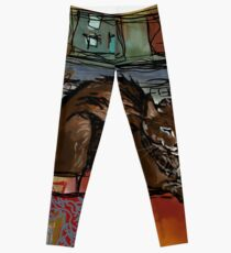 The Leisurely Cat Leggings