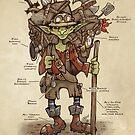 Always be prepared - The Goblin Explorer by Jessica Feinberg