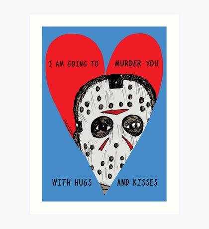Murder Love Lámina artística