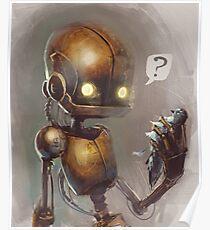 Curious robo Poster
