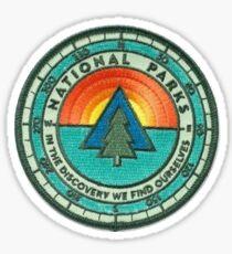 Pegatina Parche de parques nacionales
