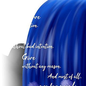Inspirational Quote (White) by AzzyFox