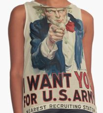 Uncle Sam Contrast Tank