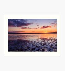 Murvagh Beach Sunset Art Print