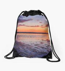 Murvagh Beach Sunset Drawstring Bag
