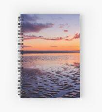 Murvagh Beach Sunset Spiral Notebook