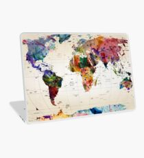 map Laptop Skin
