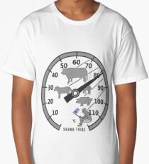 Sauna Tribe - Thermometer Long T-Shirt
