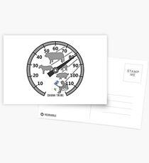 Sauna Tribe - Thermometer Postcards