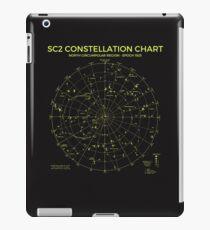 Constellation Chart North Circumpolar Region iPad Case/Skin
