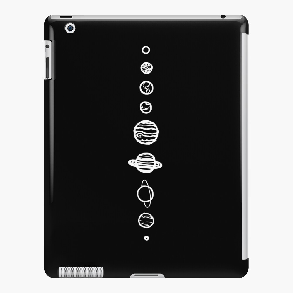 Black Planets iPad Case & Skin