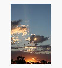 Mannum Sunrise Photographic Print