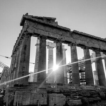 Greece Black & White by Carlynn