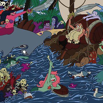Mermaid Lagoon by Kravache