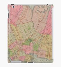 Vintage Map of Brooklyn NY (1896) iPad Case/Skin
