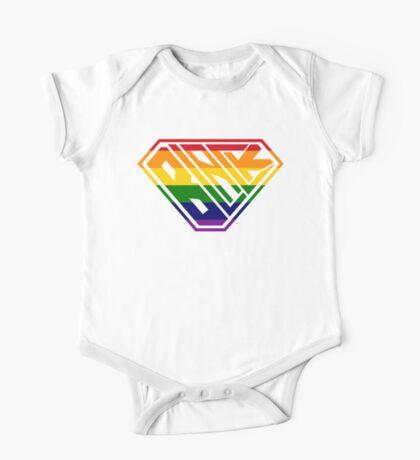 Black SuperEmpowered (Rainbow) Kids Clothes