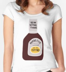 Barbecue Sauce Women's Fitted Scoop T-Shirt