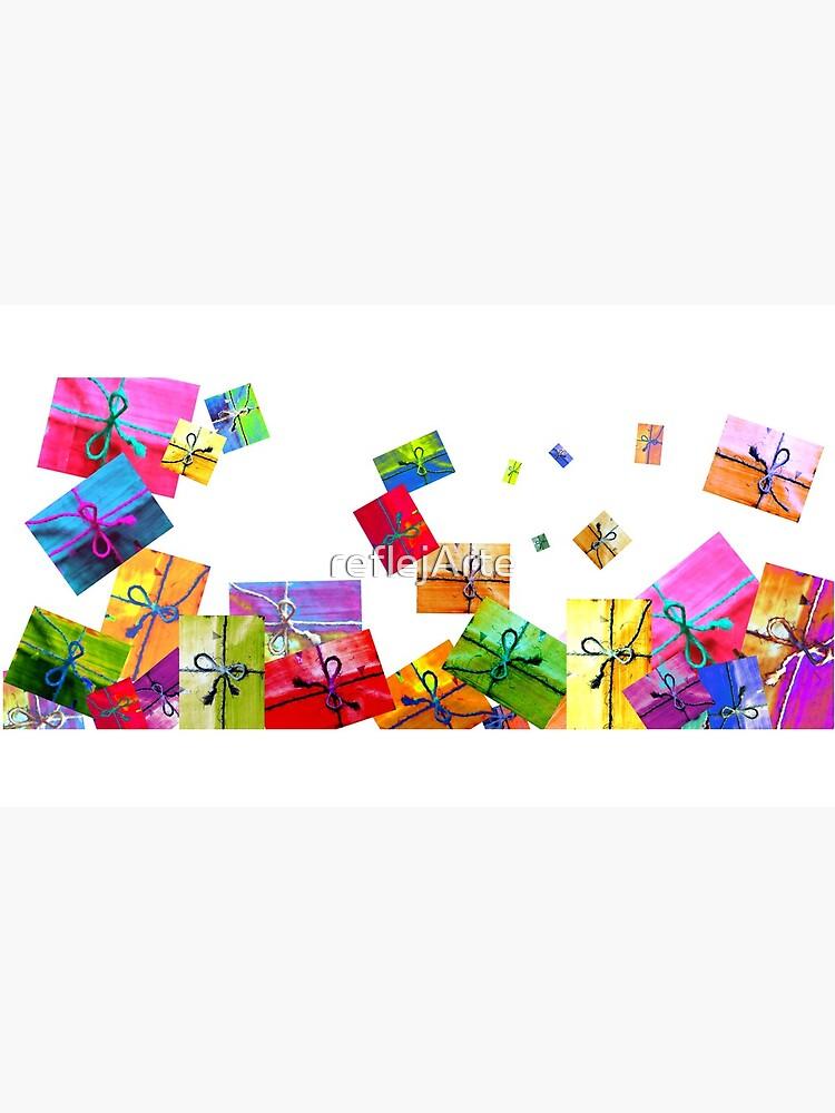 A Lot of Gifts! · ¡Un montón de regalitos! · Viele Geschenke!!! · Plein de cadeaux ! by reflejArte