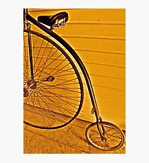 Penny - farthing Photographic Print