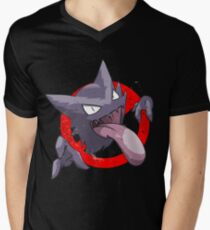 Ghostbusters gengar Men's V-Neck T-Shirt