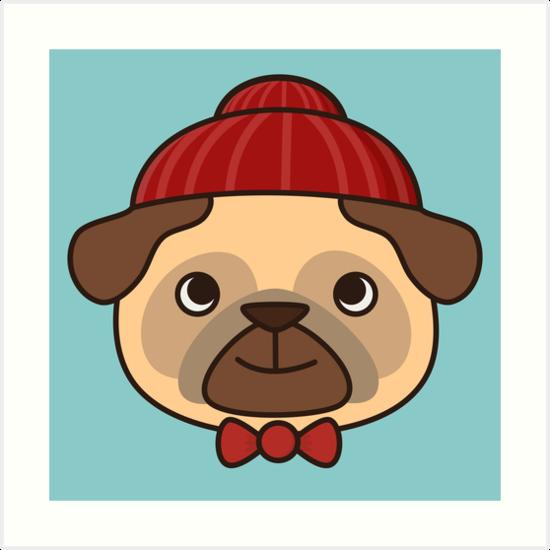 23dfb96e1da Beanie Pug Is Kawaii And Cute