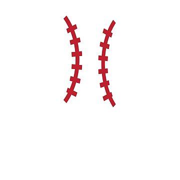 It's In My DNA - Fingerprint - Cool Baseball Shirt by bkfdesigns