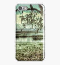 Horses in the Marsh iPhone Case/Skin