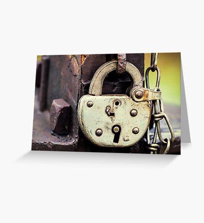 Lockup Greeting Card