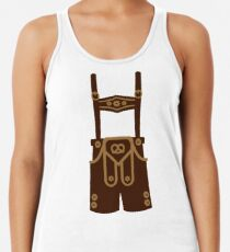 Leather trousers Racerback Tank Top