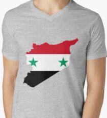 Syria Men's V-Neck T-Shirt