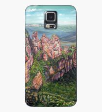 On the Edge, Blue Mountains, Australia Case/Skin for Samsung Galaxy