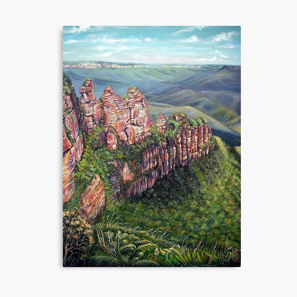 On the Edge, Blue Mountains, Australia Canvas Print