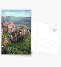 On the Edge, Blue Mountains, Australia Postcards