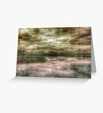 Stormy Salt Marsh Greeting Card