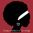 Perfect in his image (Burgundy) by Kamira Gayle